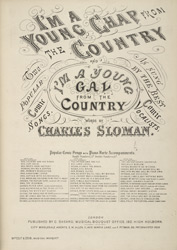 I'm A Young Chap From The Country Nos. 2517-18